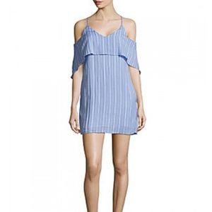 Striped sleeveless state of being dress